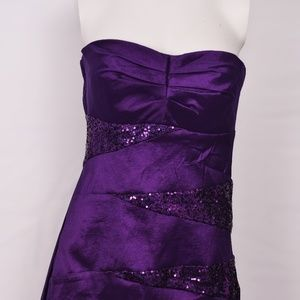 Teeze Me Cocktail Party Strapless Mini-Dress (13)